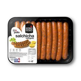 Bandeja Salchicha Merguez de pollo Paasa