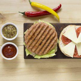 Burger Kebab de pollo Paasa