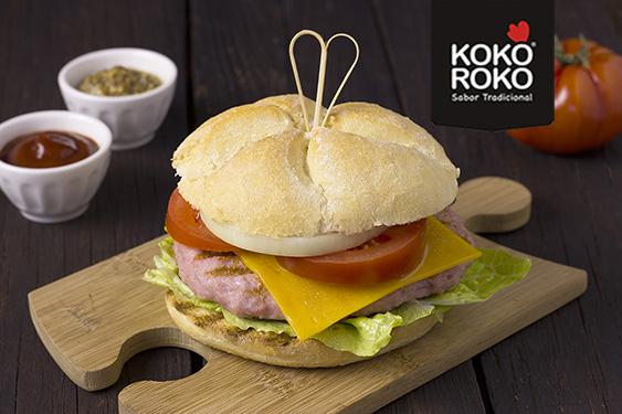 Burger de pollo KOKOROKO PAASA