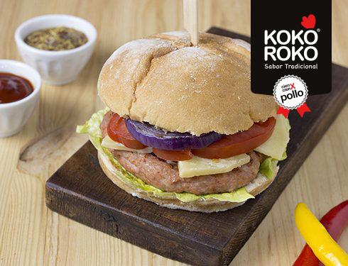 Hamburguesa Kebab