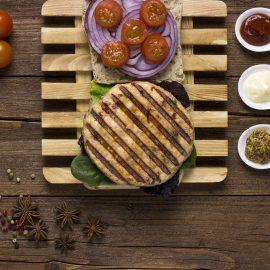 Burger verduras de pollo Paasa