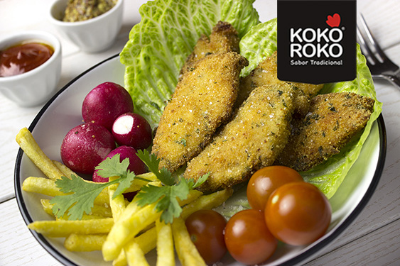 Pechuga de pollo empanada KOKOROKO PAASA