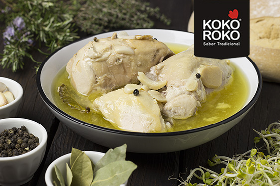 Pollo en escabeche KOKOROKO PAASA