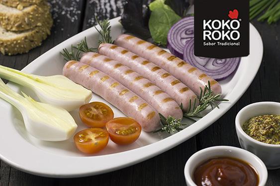 Salchichas de pollo KOKOROKO PAASA