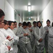 Interesante visita de alumnos de Veterinaria de CEU Cardenal Herrera