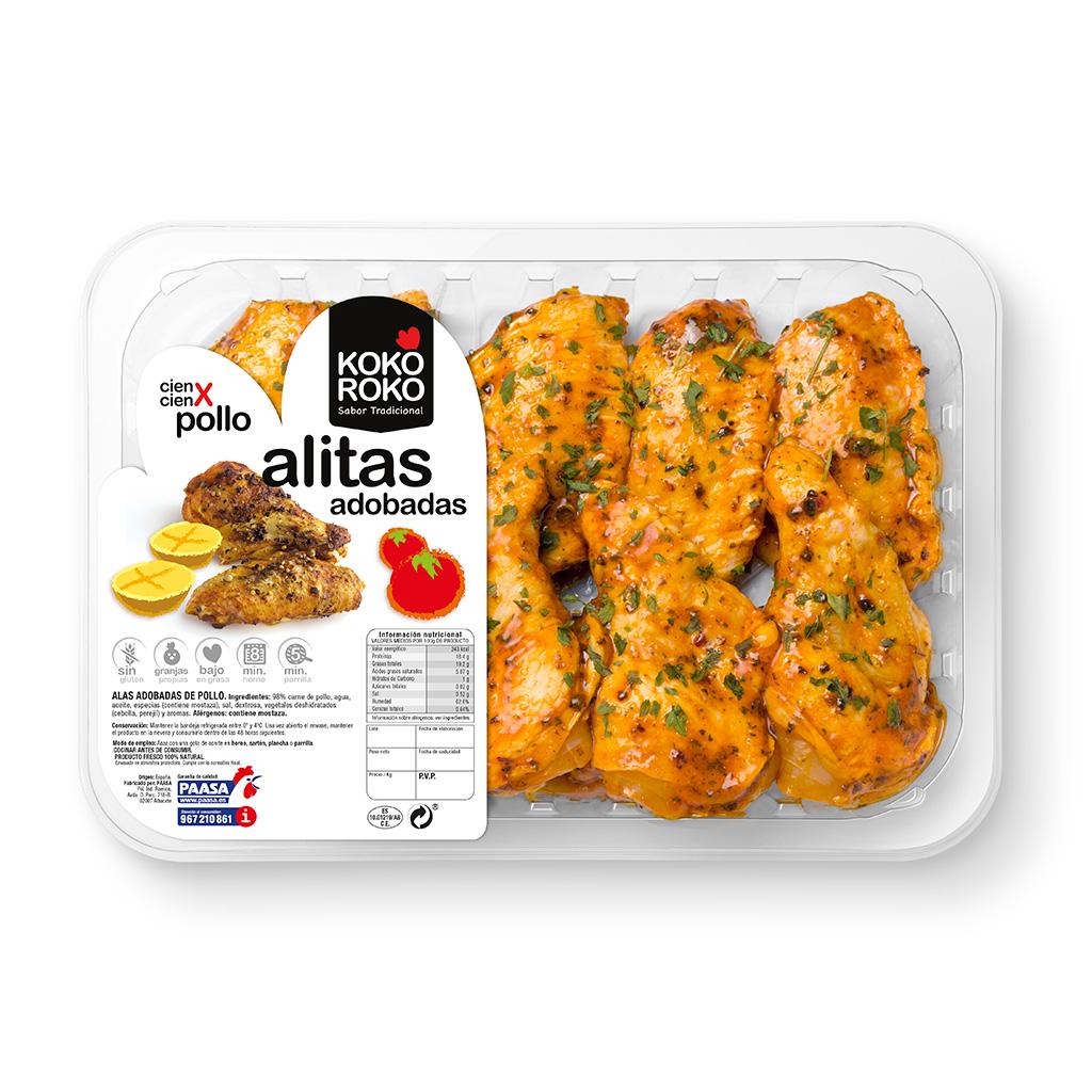Alitas adobadas paasa - Adobo de alitas de pollo ...