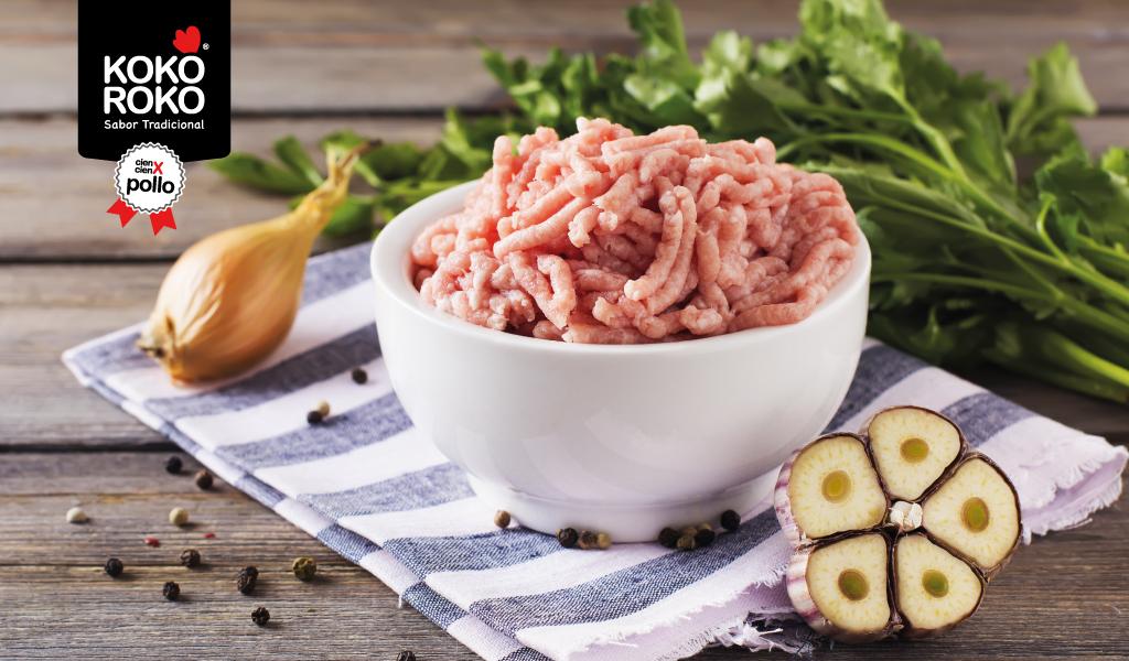 3 recetas con carne picada de pollo