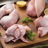 Cómo trocear un pollo entero