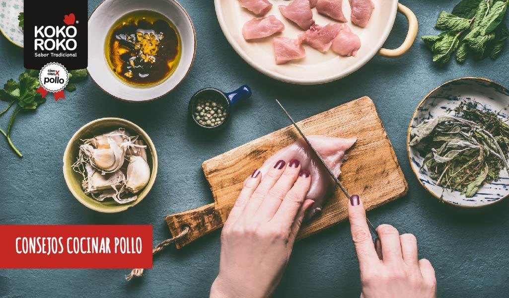 Consejos para cocinar pollo y que quede perfecto