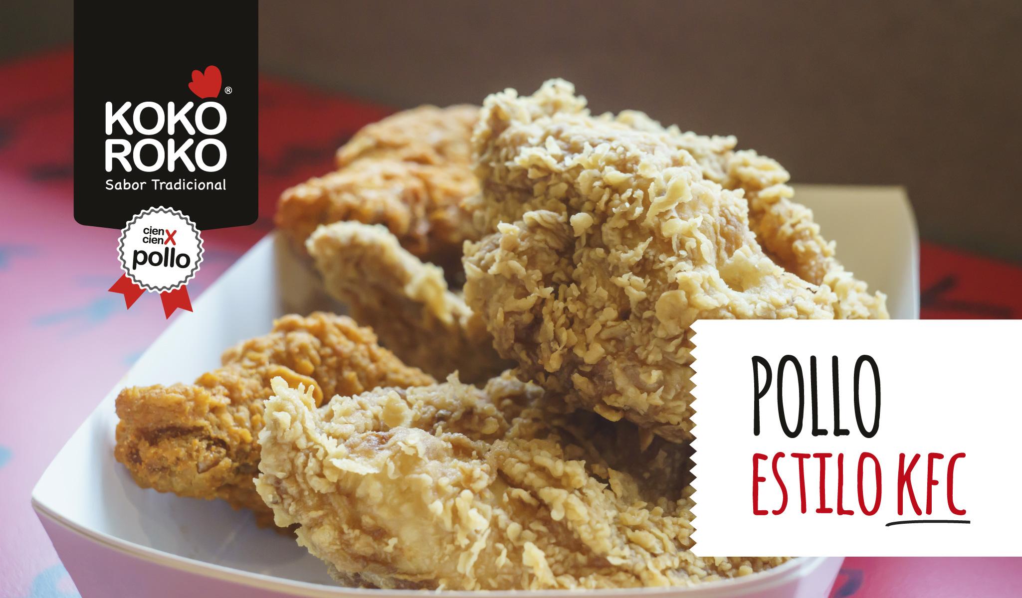 Cómo hacer pollo al estilo KFC fácil y rápido