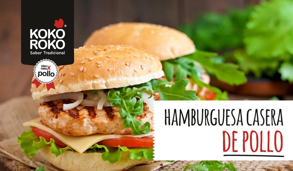 Cómo hacer la hamburguesa de pollo perfecta