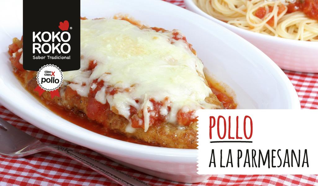 Viajamos hasta Italia con su receta de pollo a la parmesana