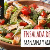 Receta veraniega: ensalada de pollo con manzana y aguacate