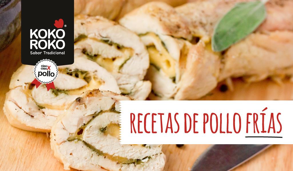 3 recetas frías con pollo, ¡sanas, fáciles y deliciosas!