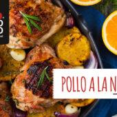 Pollo a la naranja, una receta fácil y deliciosa