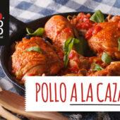 Pollo a la cazadora, receta tradicional italiana