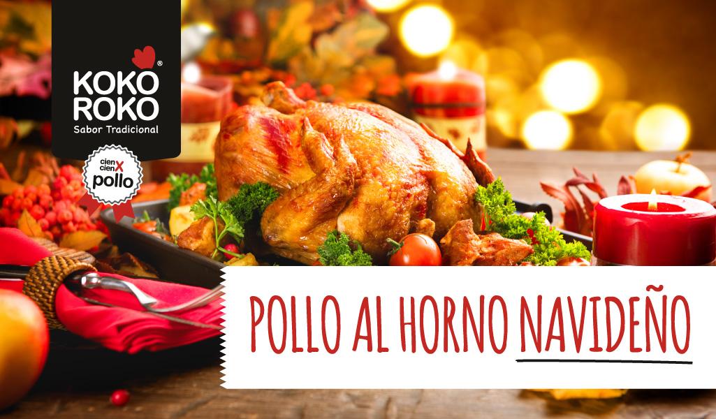 Pollo al horno con sabor a Navidad, una receta para disfrutar en familia