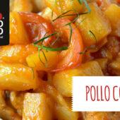 Pollo con piña, una receta de estilo oriental