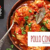 Pollo con tomate, una receta de toda la vida