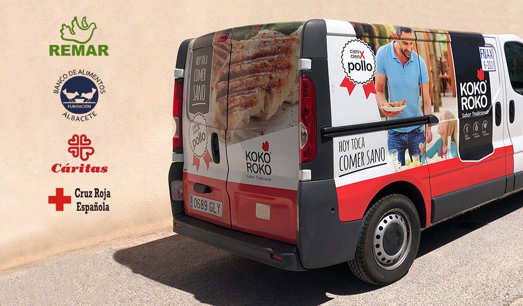 PAASA muestra su cara más solidaria y dona más de 2.500 kilos de alimentos