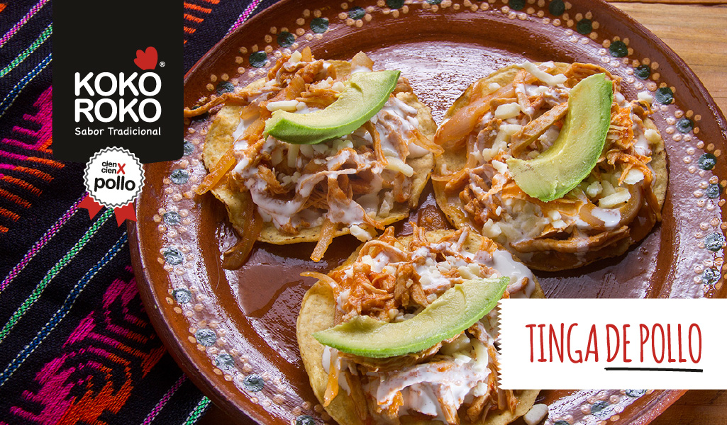 Tacos de tinga de pollo, una receta con todo el sabor de México