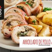 Arrollado de pollo argentino