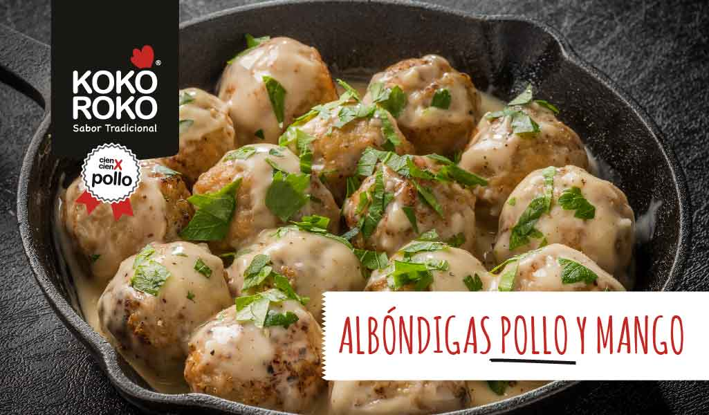 receta-Albóndigas-pollo-mango